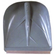 Лопата снеговая п/э с метал. планкой 400 х 380мм  (№3)