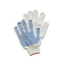 Перчатки с ПВХ 4 нити (10) Точка
