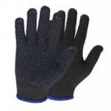 Перчатки с ПВХ 5 нитей (10) Точка П/шерсть