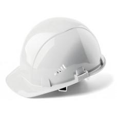 Каска строительная белая