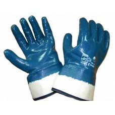 Перчатки нитриловые 2-ой облив манжет крага (40)