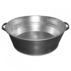 Таз оцинкованный 13 литров для непищевых продуктов и холодной воды